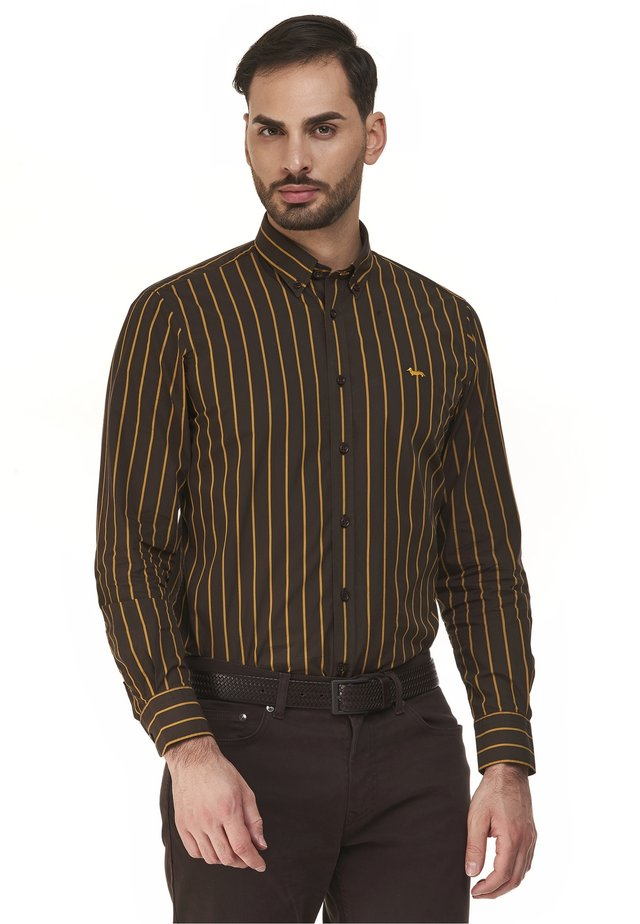 Overhemd - marrone