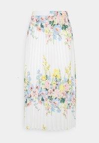 ONLY - ONLALMA LIFE PLISSE SKIRT  - Pleated skirt - cloud dancer - 0
