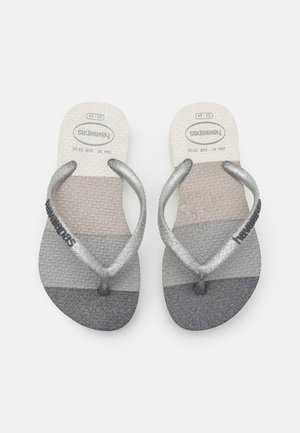 PALETTE GLOW - T-bar sandals - white