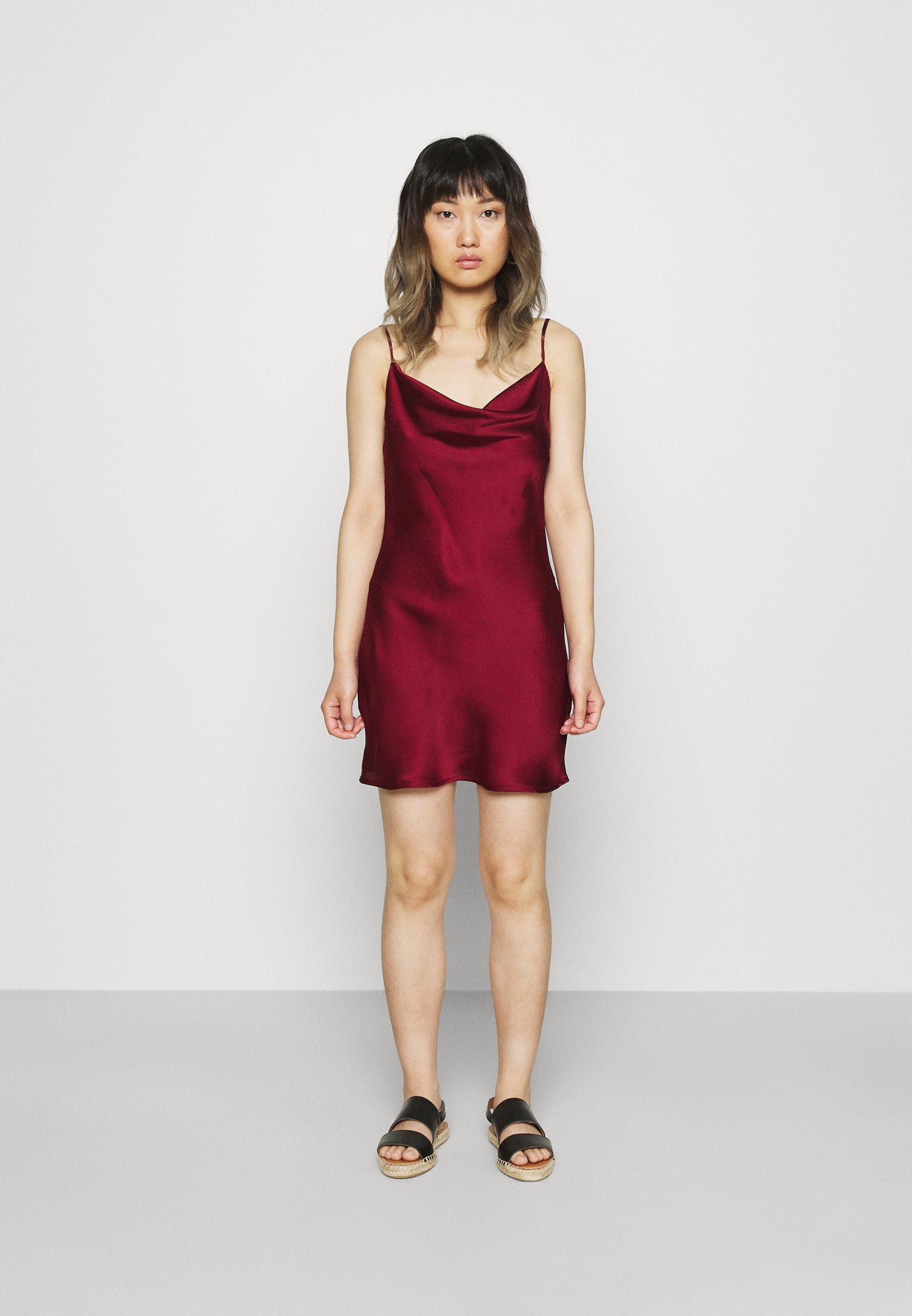 Donna COWL NECK MINI DRESS - Vestito elegante