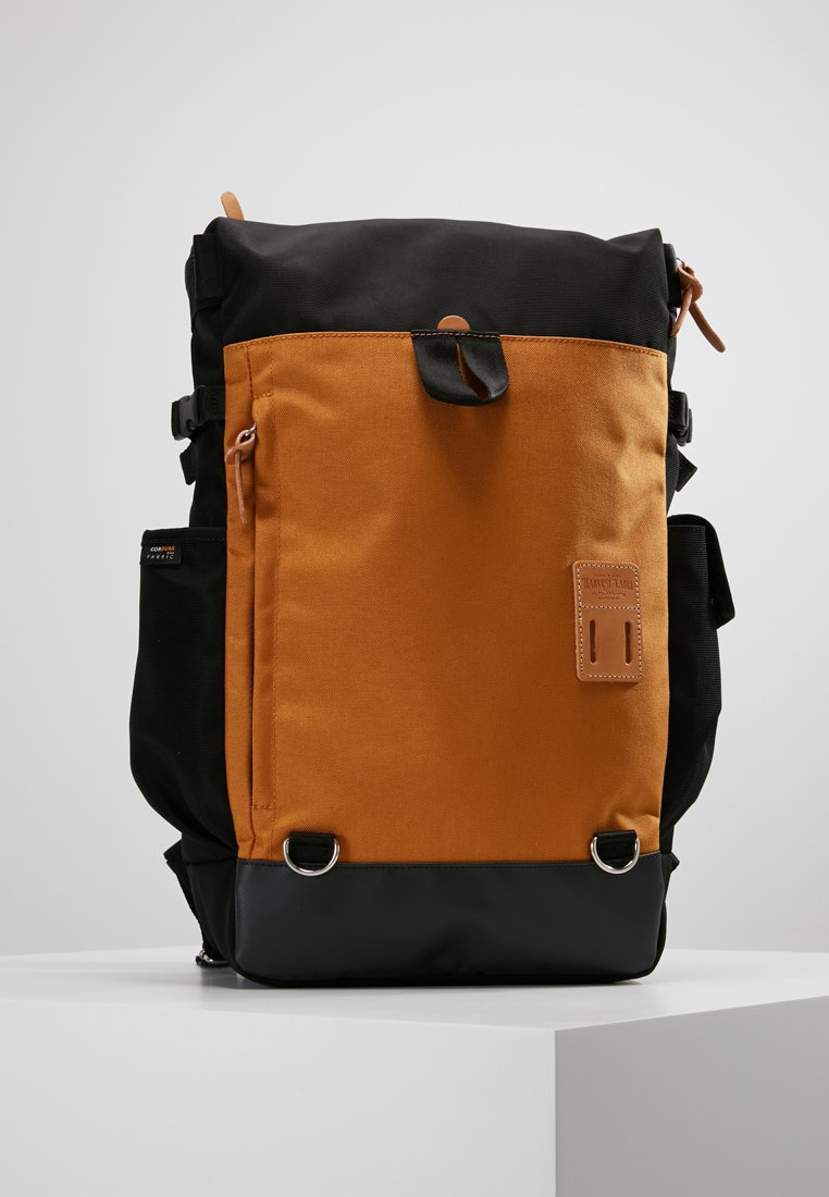Harvest Label - STYLE BOX - Rucksack - black/yellow