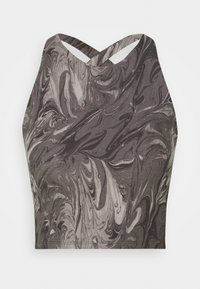 Abercrombie & Fitch - BARE CROSS BACK - Top - marble - 3