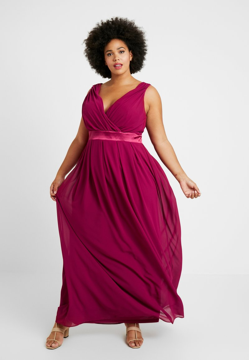 TFNC Curve - KILLY - Robe de cocktail - mulberry