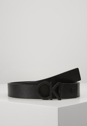 35MM BUCKLE PEBBLE - Pásek - black