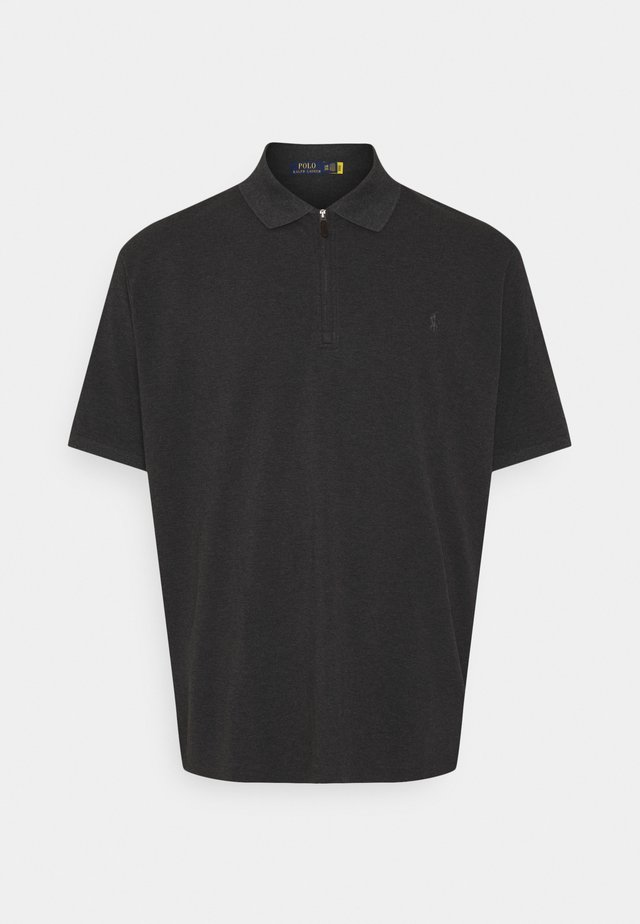 SHORT SLEEVE - Polo shirt - dark grey heather