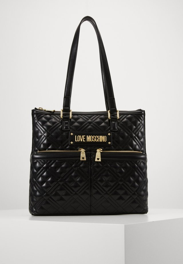 BORSA QUILTED - Sac à main - black