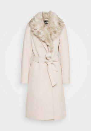 ONLBERNA WRAP COAT - Classic coat - pumice stone