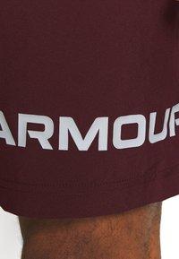Under Armour - GRAPHIC SHORT - Sports shorts - bordeaux - 5