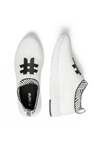 Rens Original - WATERPROOF COFFEE SNEAKERS - Sneakers laag - rebel white - 2