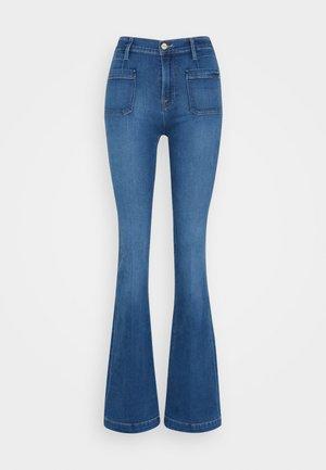 LE BARDOT - Flared Jeans - decades blue