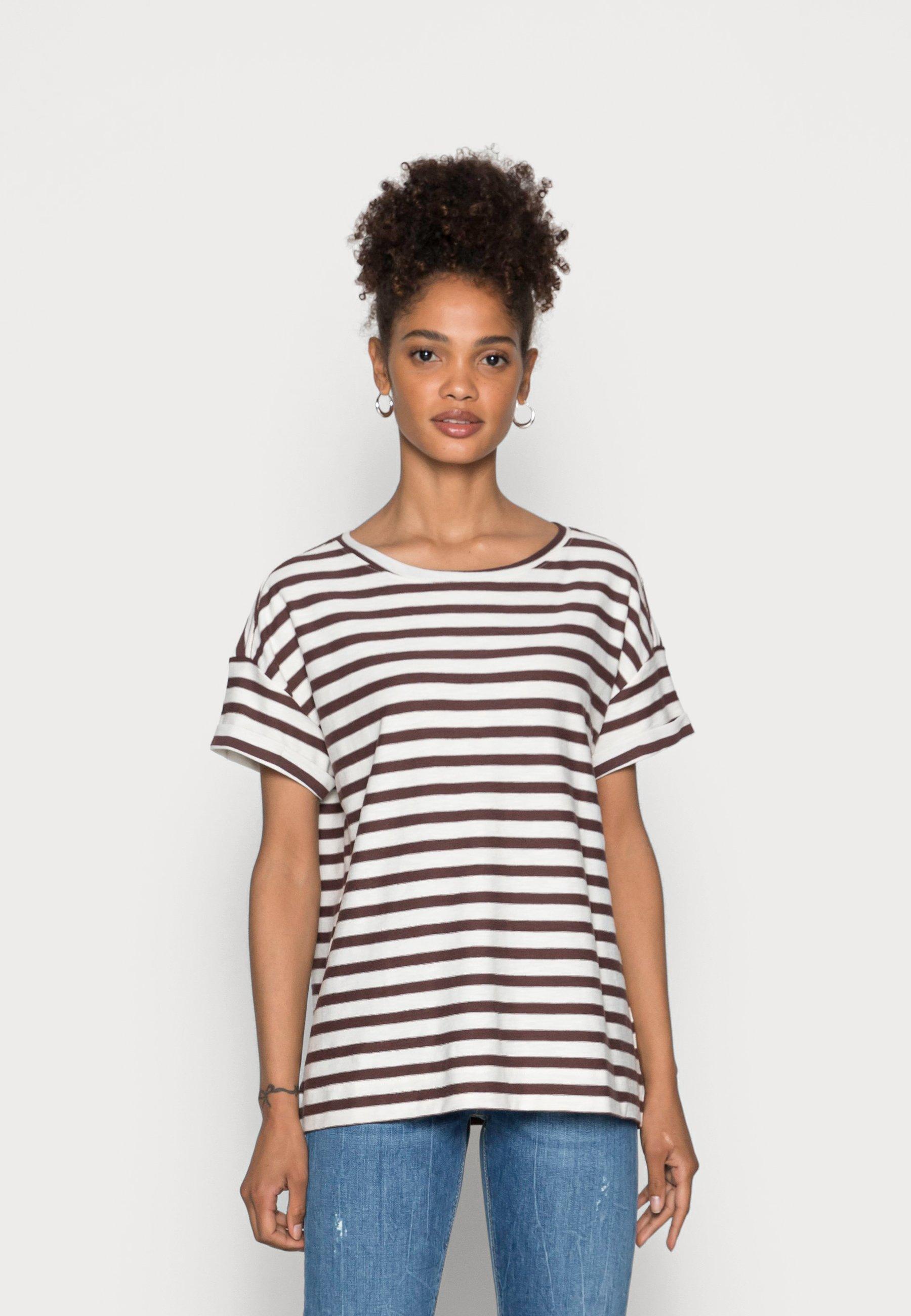 Donna COO STRIPE - T-shirt con stampa