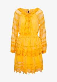 YAS - YASDANA DRESS  - Vestido informal - cadmium yellow - 5