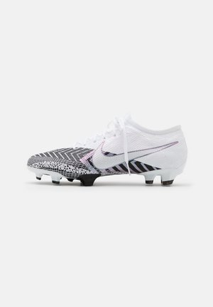MERCURIAL VAPOR 13 PRO FG UNISEX - Moulded stud football boots - white/black