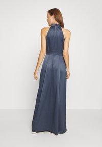 IVY & OAK - LONG NECKHOLDER DRESS - Suknia balowa - graphit blue - 2
