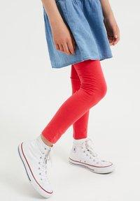 WE Fashion - MEISJES SKINNY FIT - Legging - salmon pink - 1