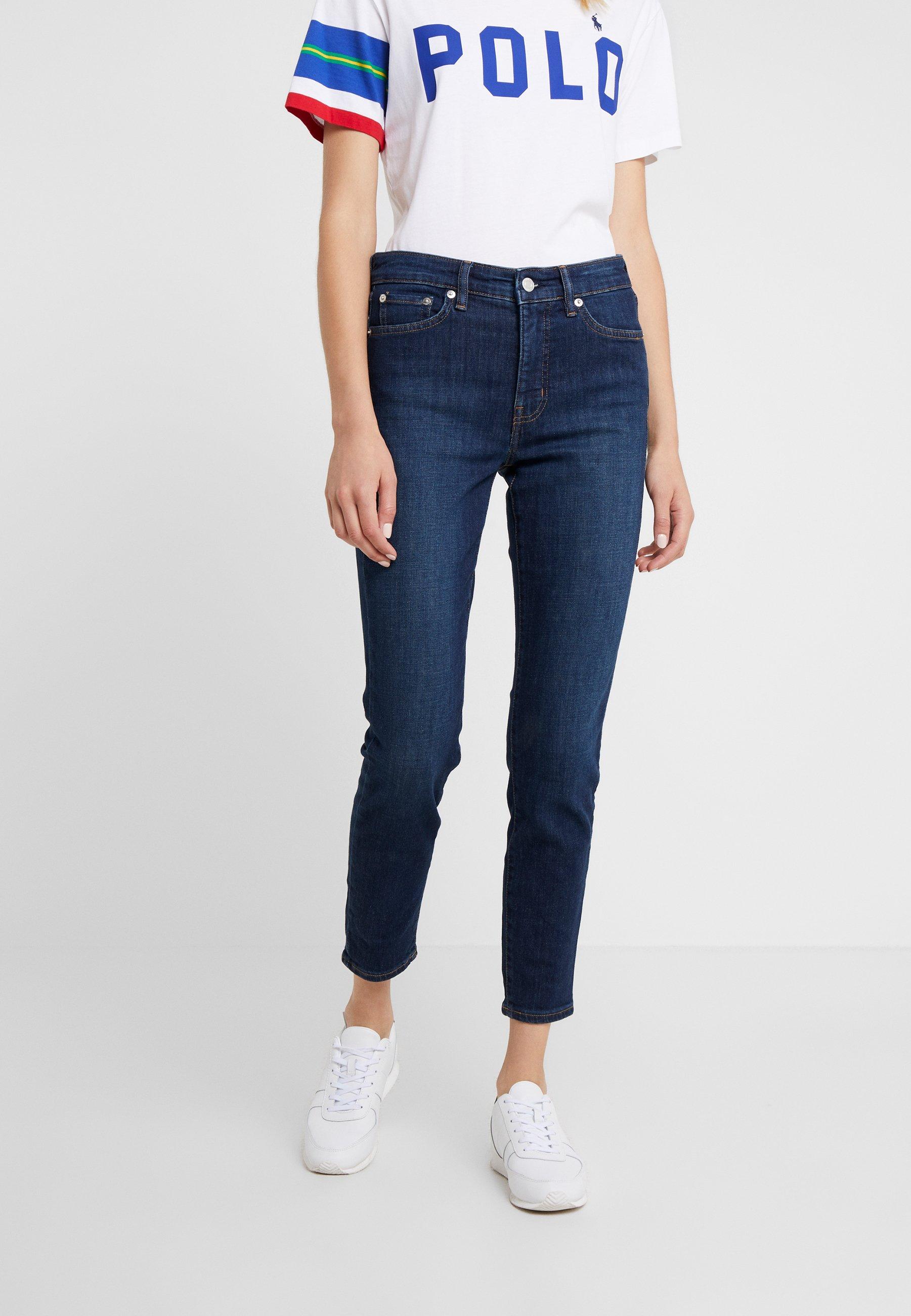 Bonne vente Meilleurs prix Lauren Ralph Lauren Jeans Skinny - dark worn wash - ZALANDO.FR 7VARy