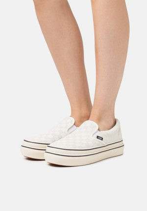 SUPER COMFYCUSH - Trainers - antique white/black