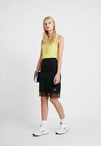 Calvin Klein Jeans - Minijupe - black - 1