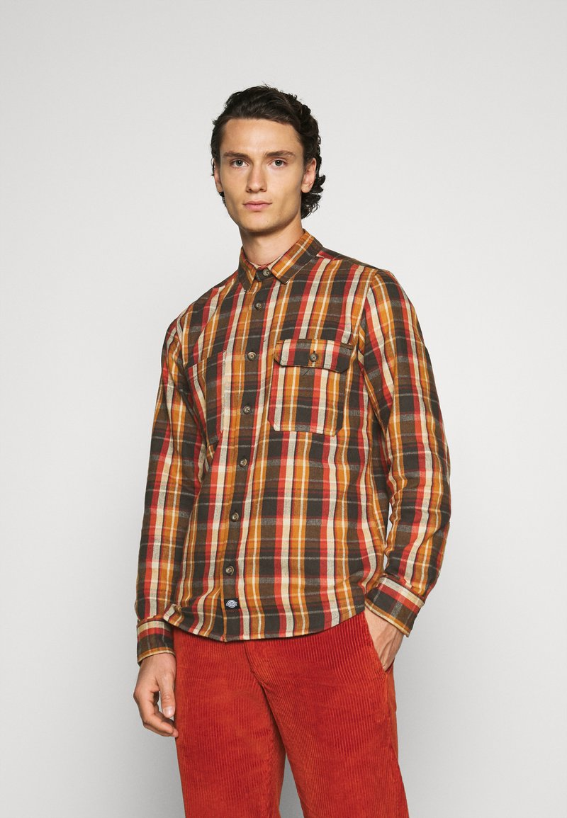 Dickies - GLENMORA - Shirt - brown duck