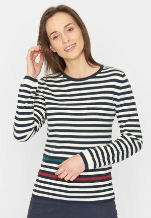 Trui - navy stripe