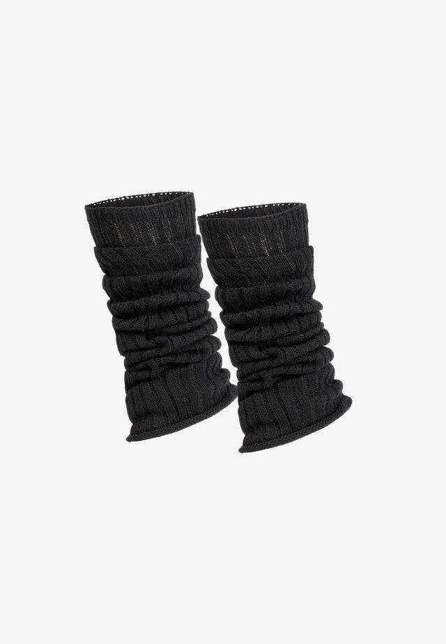 Säärystimet - black