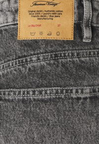 American Vintage - TIZANIE - Straight leg jeans - bleached grey - 2
