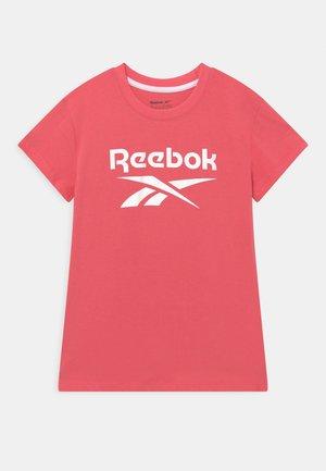 LOCK UP TEE - T-shirt print - sunkist coral