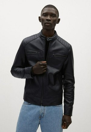 BRAKE - Faux leather jacket - svart