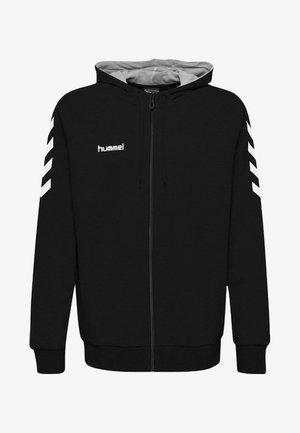 ZIP HOODIE - Sweatjakke /Træningstrøjer - black