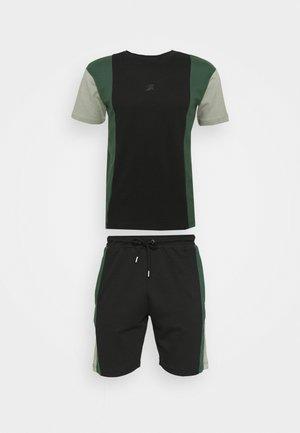 VERTICAL BLOCK UNISEX - T-shirt con stampa - black
