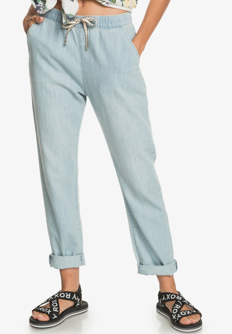 Roxy - MIT RELAXED FIT  - Relaxed fit jeans - light blue