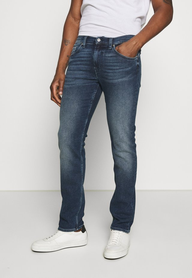 KAYDEN - Straight leg jeans - dark blue