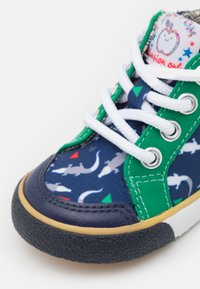 Shoo Pom - ZIP BASKET - Baby shoes - blue/green - 5