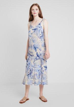 KOMBA TIE STRAP DRESS - Robe longue - crème brûlée