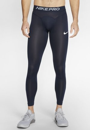NIKE PRO MEN'S TIGHTS - Leggings - obsidian/obsidian mist/white