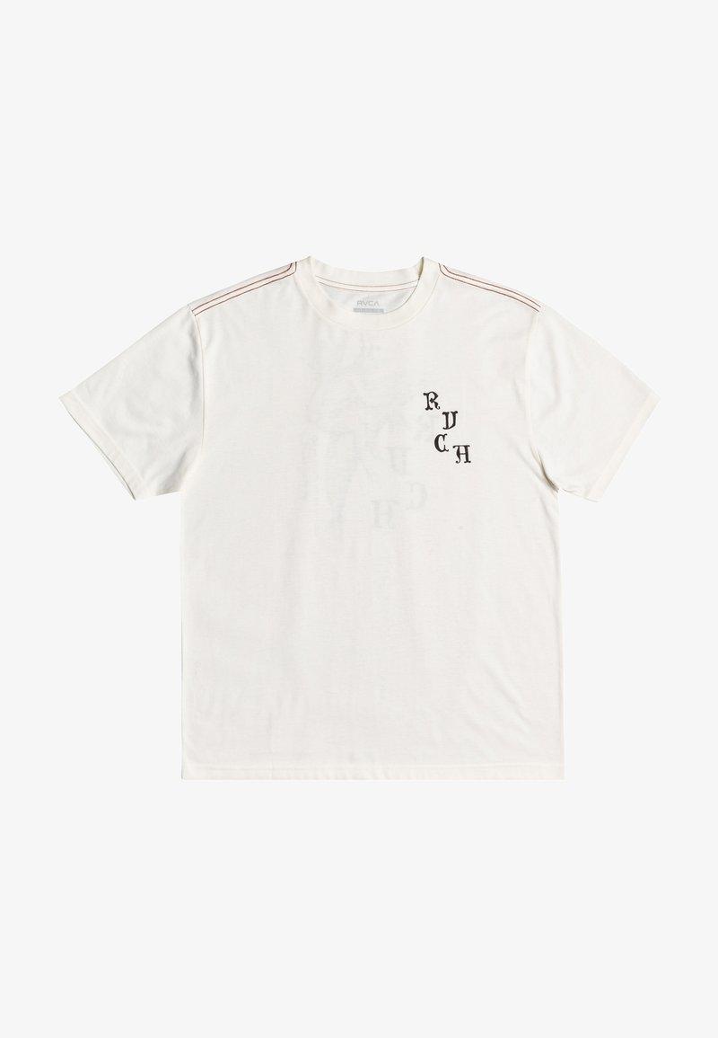 RVCA - Print T-shirt - antique white