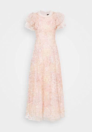 ELIN BLOSSOM ANKLE GOWN - Occasion wear - strawberry icing