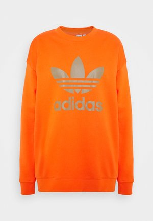 CREW - Sweatshirt - energy orange/cardboard