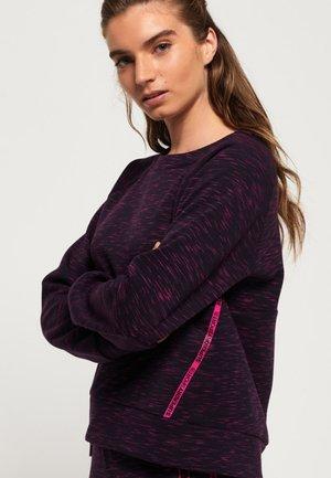 CORE GYM TECH PANEL - Sweatshirt - purple