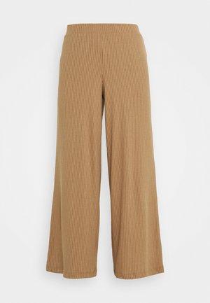 VIRIBBI PANTS - Pantaloni - tigers eye