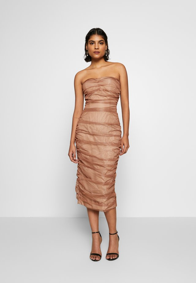 COURTNEY DRESS - Juhlamekko - rose gold