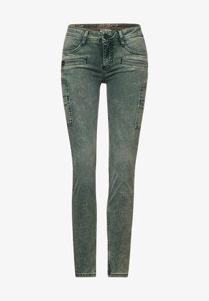 Jeans slim fit - grün