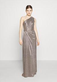 Lauren Ralph Lauren - IONIC LONG GOWN - Vestido de fiesta - antique bronze - 0