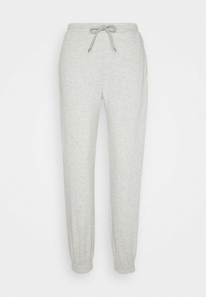 HOLLY PANTS - Tracksuit bottoms - grey melange