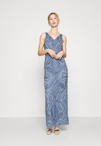 Lace & Beads - FALLYN MAXI - Vestido de fiesta - dusty blue - 0