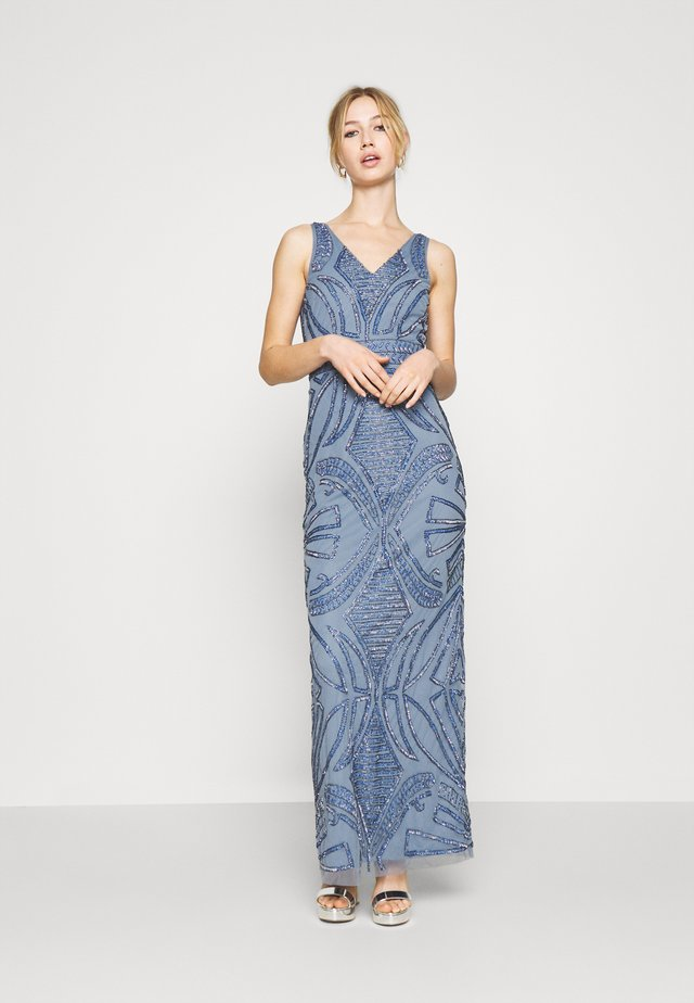 FALLYN MAXI - Robe de cocktail - dusty blue