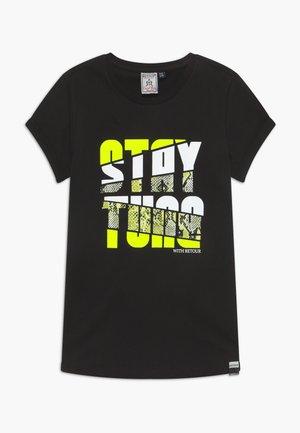 ROBYN - T-shirt print - black