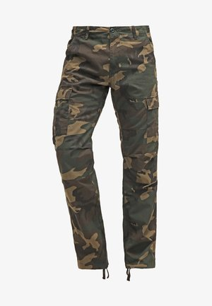 AVIATION PANT COLUMBIA - Cargo trousers - camo laurel