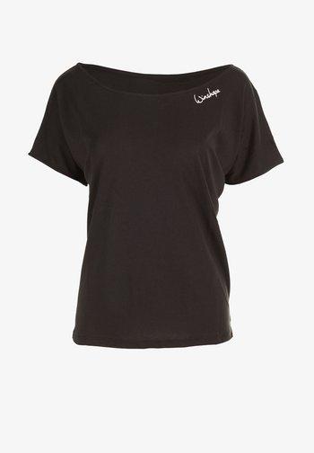 MCT002 ULTRA LIGHT - Camiseta estampada - schwarz