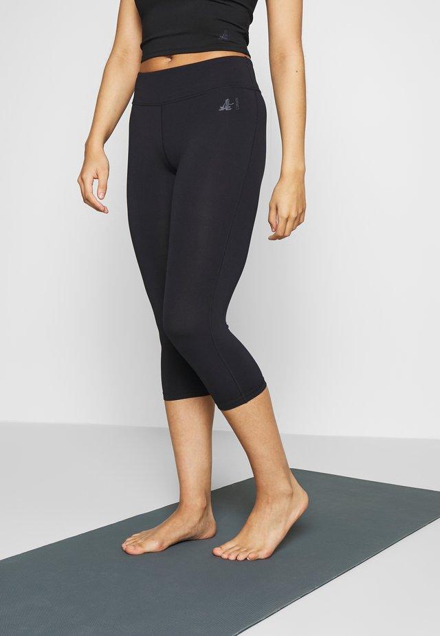 CAPRI HIGH WAIST LEGGINGS - 3/4 sports trousers - midnight blue